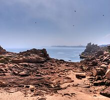 Beach on Mars by astrolabio
