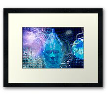 Devine Matrix Framed Print