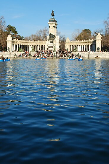Retiro Park in Madrid by luissantos84