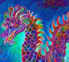 Chinese Dragon by Karin Zeller