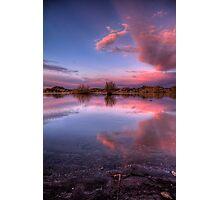 Pinching Sunset Photographic Print