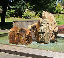Fountain in Quees Elizabeth Park, Lithgow by ©Josephine Caruana