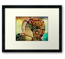 Cast The Gift Framed Print