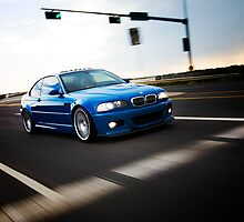 Green light Laguna Seca Blue BMW E46 M3 photo by nsphoto