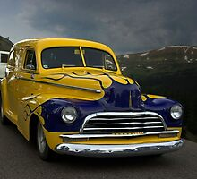 "1948 Chevrolet Sedan Deliver ""Just follow me""  by TeeMack"