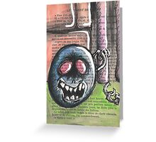 Ball and Chain Greeting Card