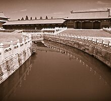 In the Forbidden City in Beijing by Tomas Slavicek