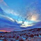 Desert Sunrise with snow by SB  Sullivan