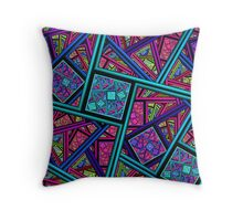 Nurture the Color of the Soul Throw Pillow