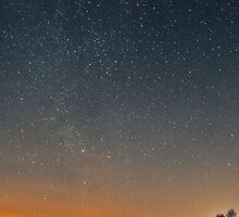 Day turns into night by Paul Hickson