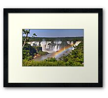 Iguassu Falls - First View Framed Print