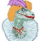 Elizabethasaurus Reginanychus the First by redqueenself