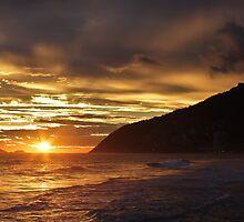 Sunset at Ipanema Beach by Edgardo Medina