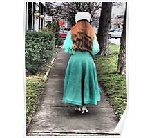 The Lady in Green Poster