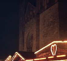 Osnabruck Dom at Night by Thomas Martin