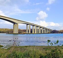 Orwell Bridge Suffolk by lou-lou