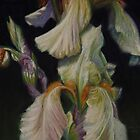 White Iris Flower by Sue Deutscher