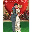 Valentine&#x27;s Day Collage by Welte Arts &amp; Trumpery