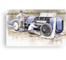 Malcolm Campbell Sunbeam Bluebird 1924 Canvas Print