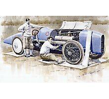 Malcolm Campbell Sunbeam Bluebird 1924 Photographic Print