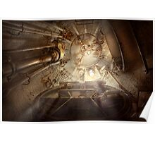 Steampunk - Naval - The escape hatch Poster