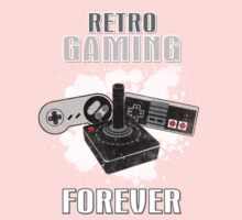 Retro Gaming Forever Kids Clothes