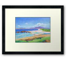 South West Rocks Pastel  # 4 Framed Print