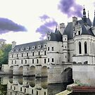 Reflecting On Chenonceau ( 7 ) by Larry Davis