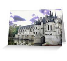 Reflecting On Chenonceau ( 7 ) Greeting Card