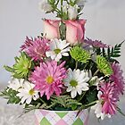 Beautiful Flower Arrangement by Sherry Hallemeier