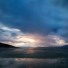 Storm over sunset by clickedbynic