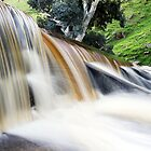 Chocolate Falls Two by Steve Chapple