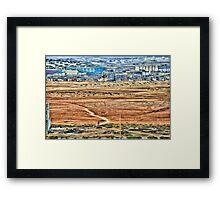 Africa-Boavista Framed Print