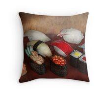 Chef - Food - Oh, I had sushi last night  Throw Pillow
