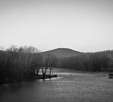 Shenandoah River by g richard anderson