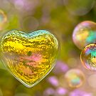 Bubble soap Valentine cards by Delphimages