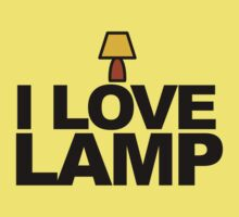 I love lamp by CoExistance