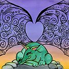 Sleeping Dragon by Amy-Elyse Neer