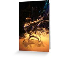 Frozen archer Greeting Card