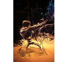 Frozen archer Photographic Print
