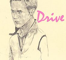 W.I.P of Ryan Gosling from Drive by Ryan Humphrey