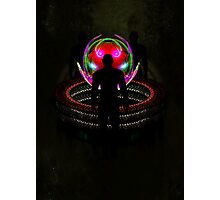 In the sphere - The meeting point Photographic Print