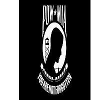 POW/MIA Flag Photographic Print