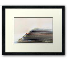 Reading © Vicki Ferrari Photography Framed Print