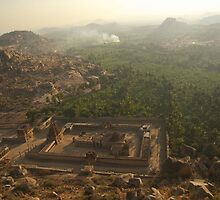 View over Hampi by Valerie Rosen