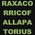 Raxacorricofallapatorius by ayn08gzu