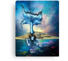BLUE SIREN Canvas Print