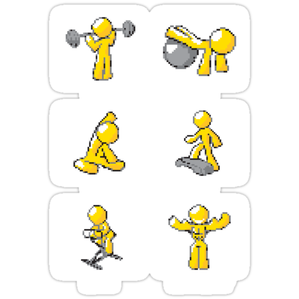 8-Bit Workout Cheat by warbucks360