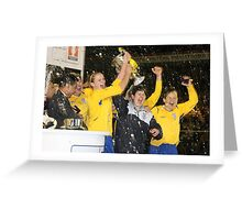 Leeds United - 'You Get Nowt for Second' Greeting Card