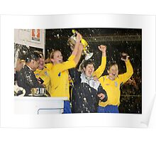 Leeds United - 'You Get Nowt for Second' Poster